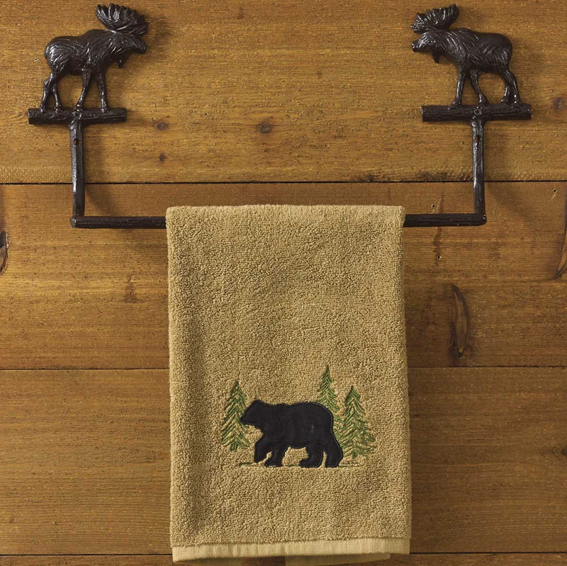 Cast Moose ~ Towel Bar 16
