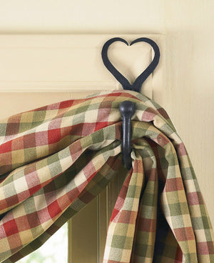 Split Heart Curtain Hooks