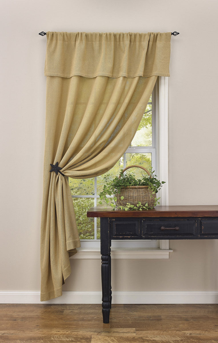 Star Curtain Tie-Backs
