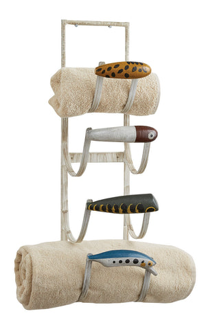 Fishing Lure Towel Holder