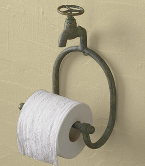 Water Faucet - Toilet Tissue Holder