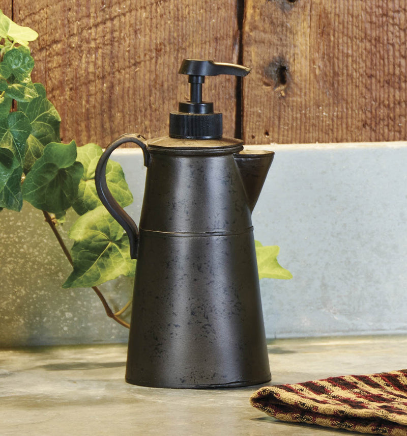 Tin Coffee Pot Dispenser