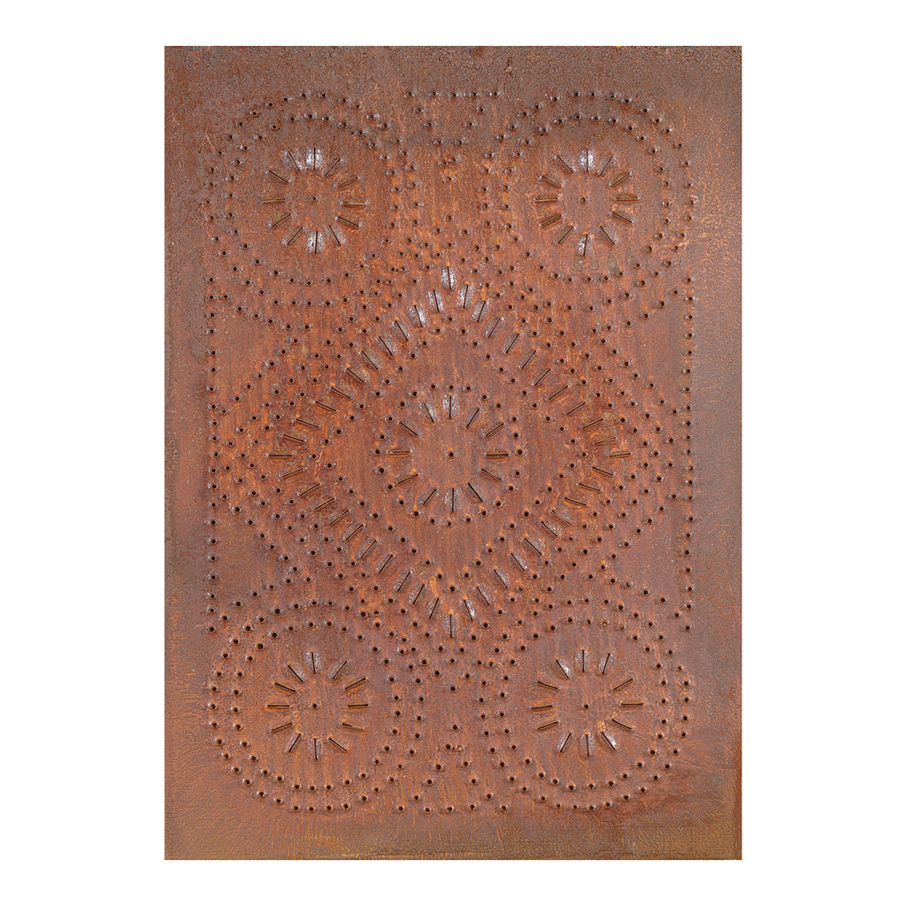 Diamond Panel in Rustic Tin
