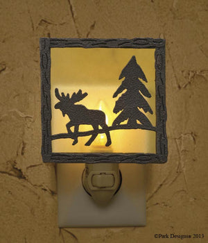 Night Light ~ Moose
