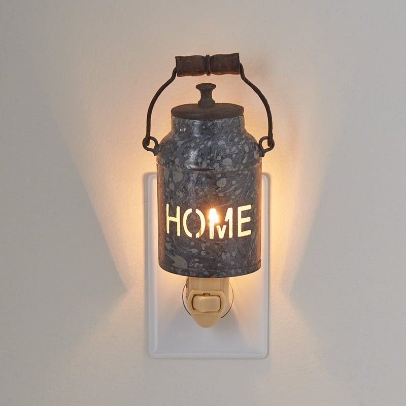 Night Light ~ Home Milk Can