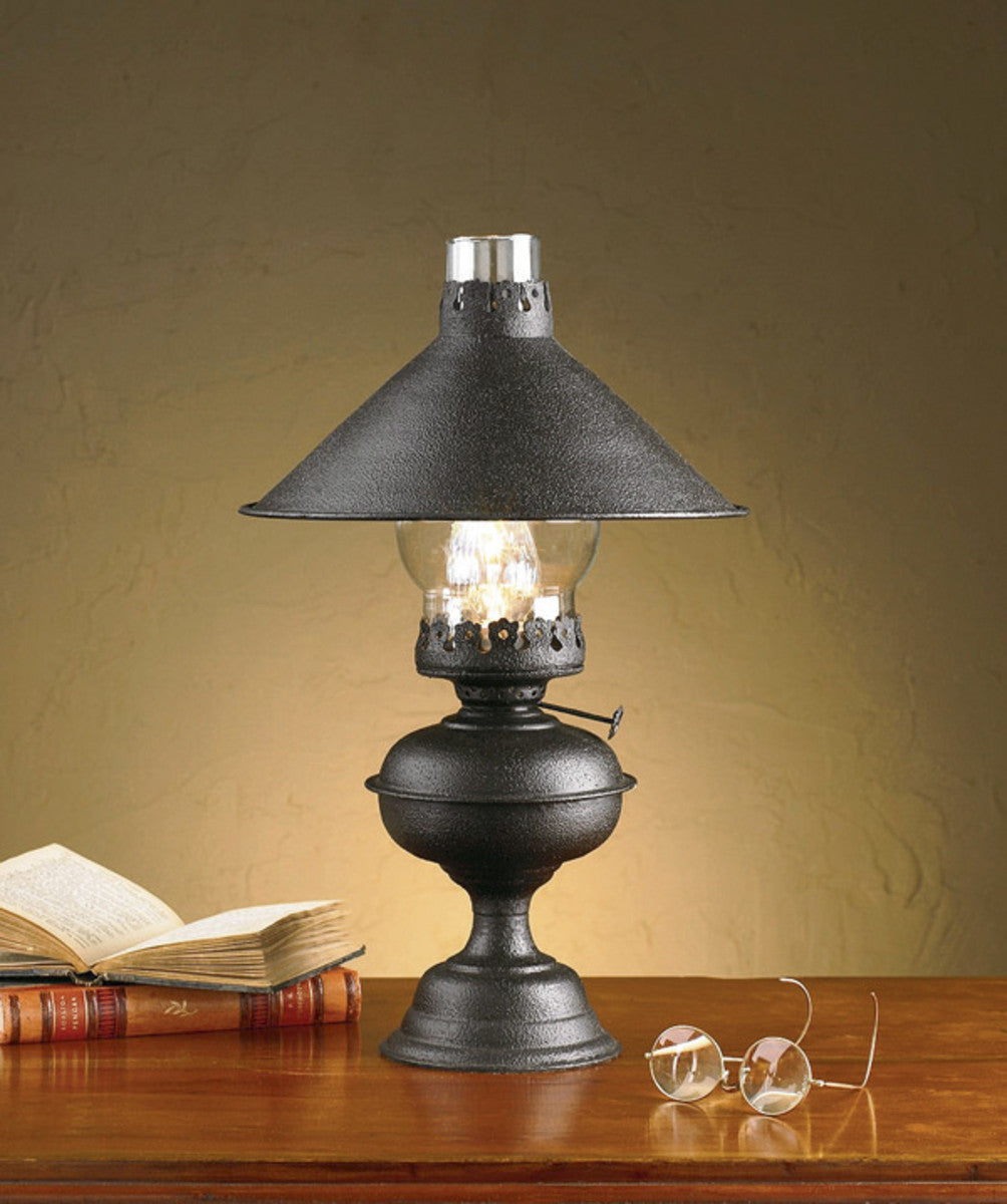 Hartford Lamp with Black Shade