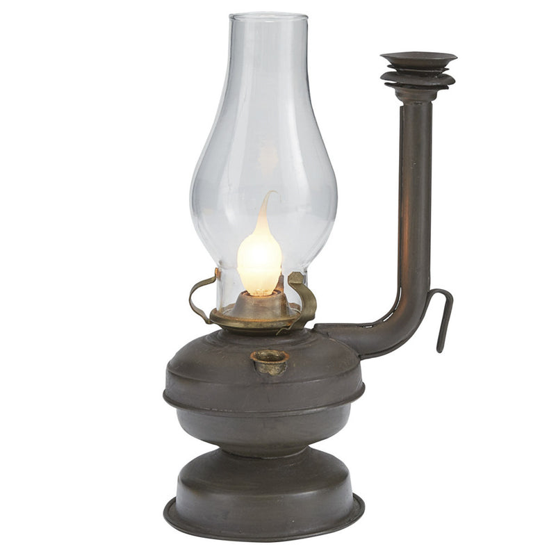 Oil Lamp with Vent Pipe