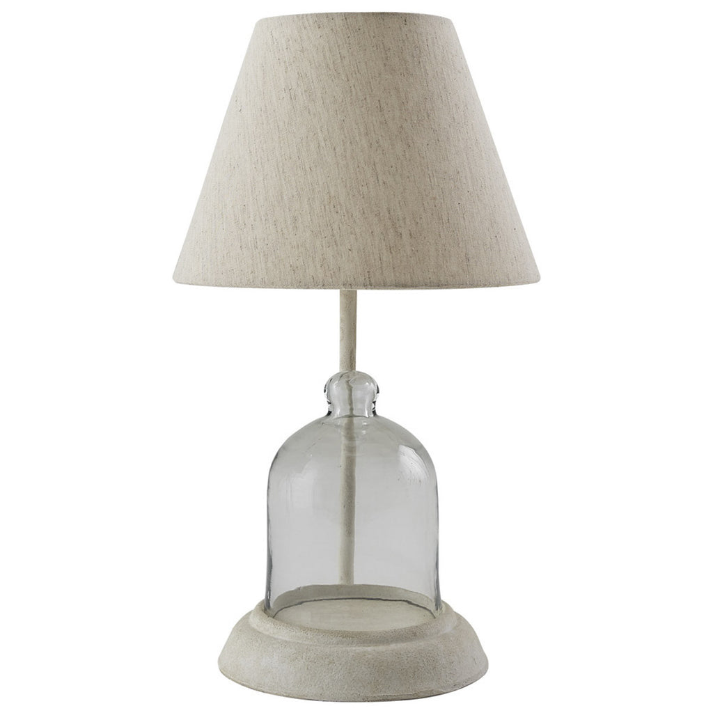 Bell Cloche Lamp with Shade