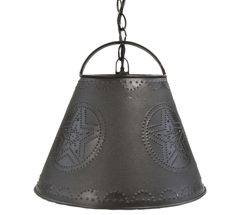 Pendant Light ~ Star Punched Shade