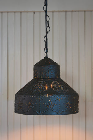 Pendant Light ~ Punched Star