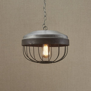 Pendant Light ~ Chicken Feeder Pendant