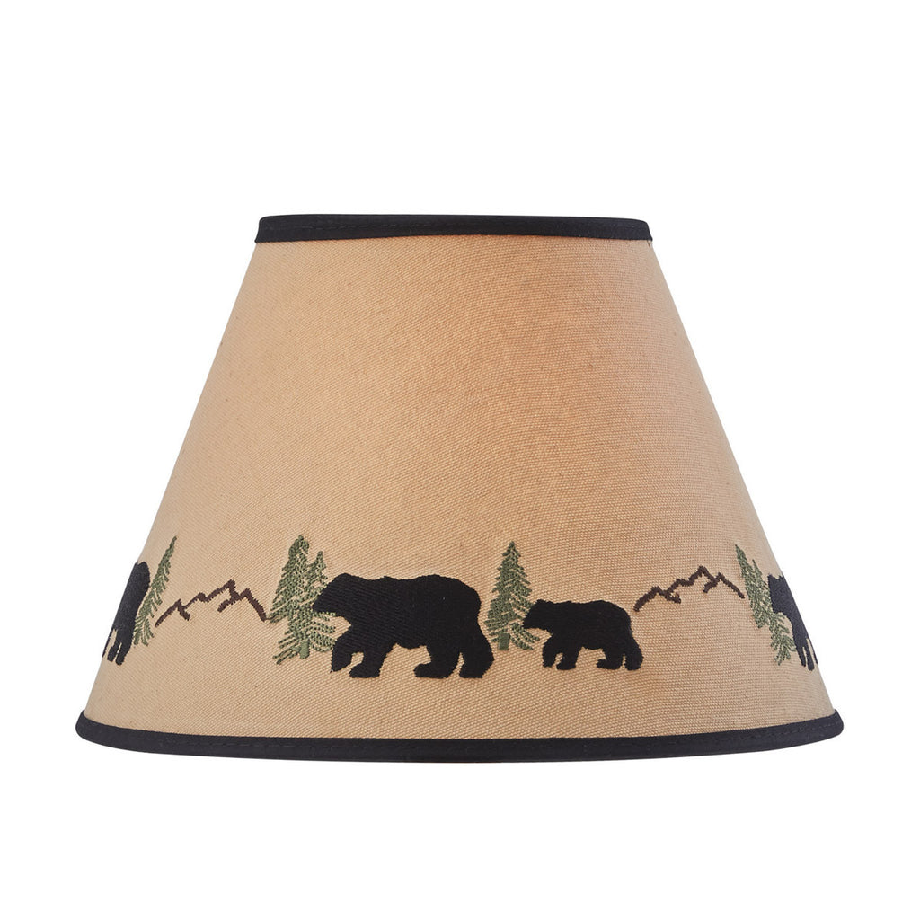 Lamp Shade ~ Black Bear