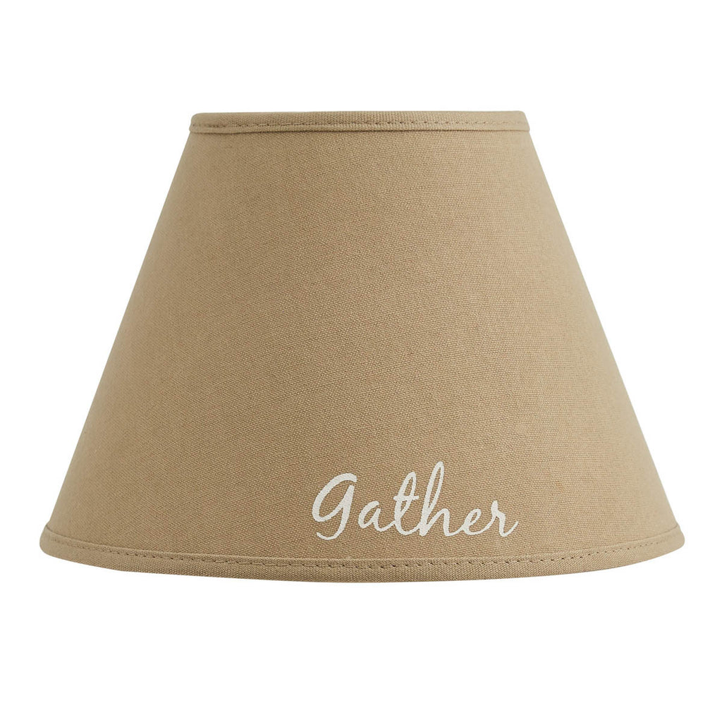 Lamp Shade ~ Gather Printed