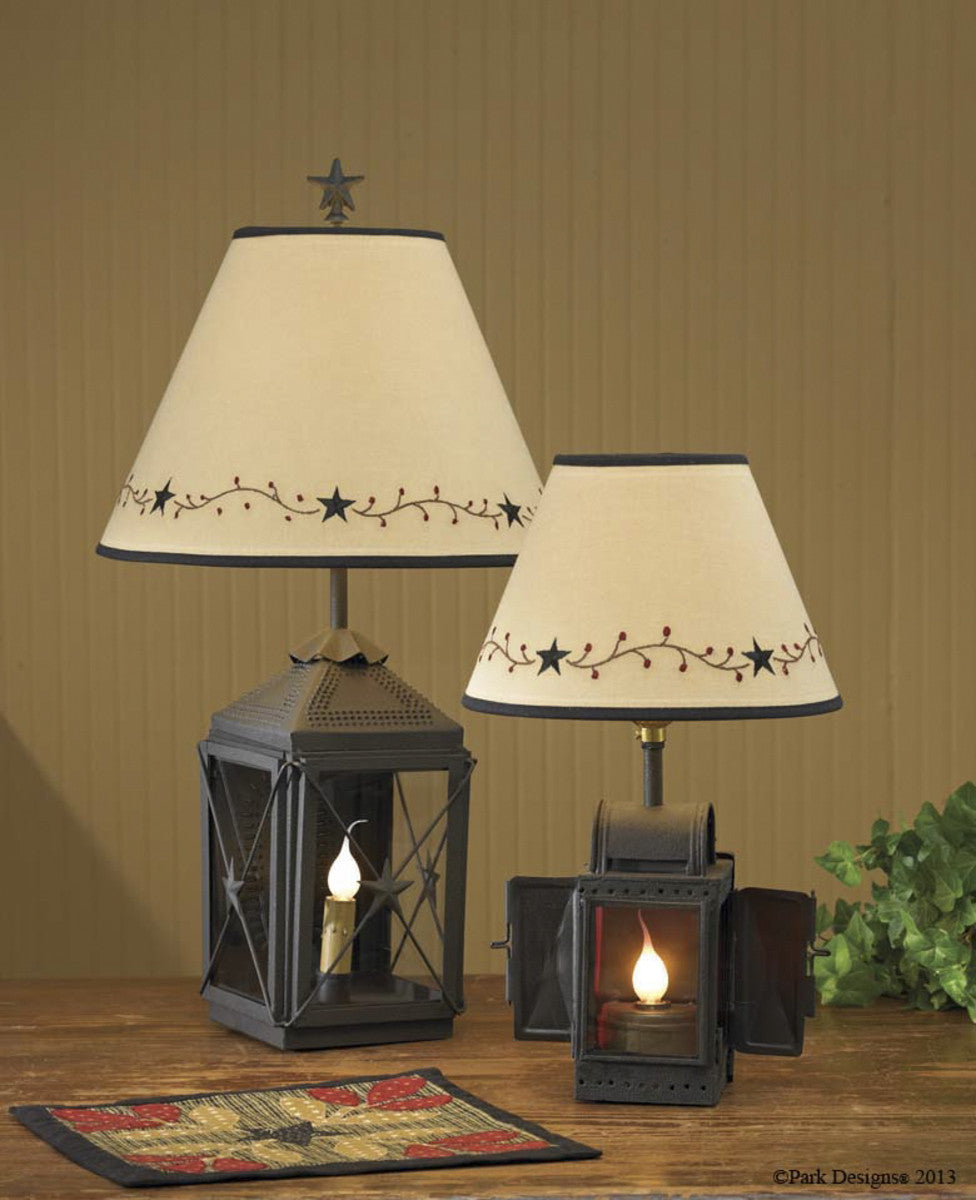 Lamp Shade ~ Star Vine