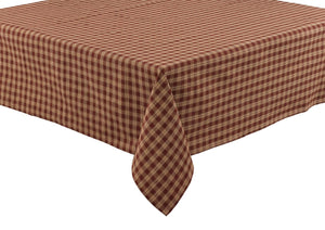 "Table Cloth 60"" x 84"" - Sturbridge Wine"