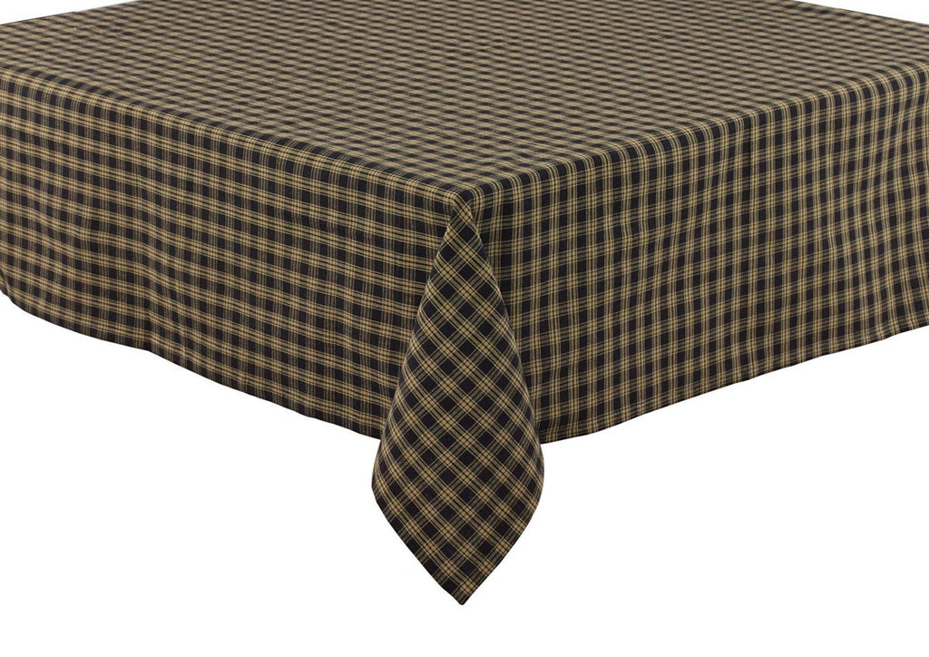 "Table Cloth 60"" x 84"" - Sturbridge Black"