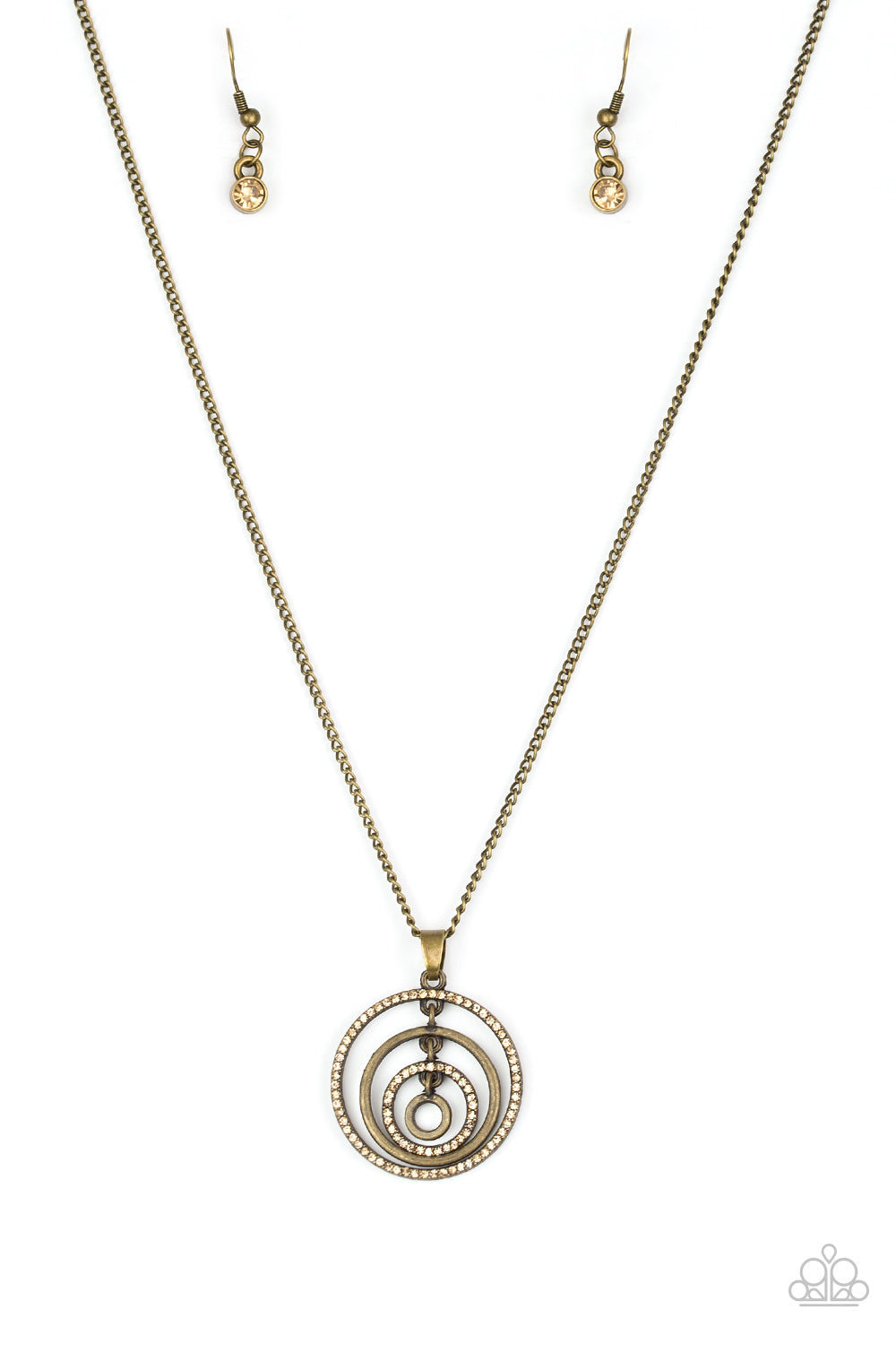 Paparazzi Upper East Side - Brass Necklace