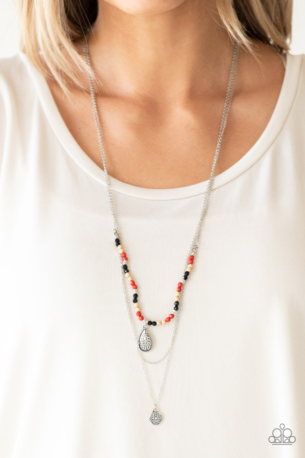Paparazzi Mild Wild - Multi Necklace