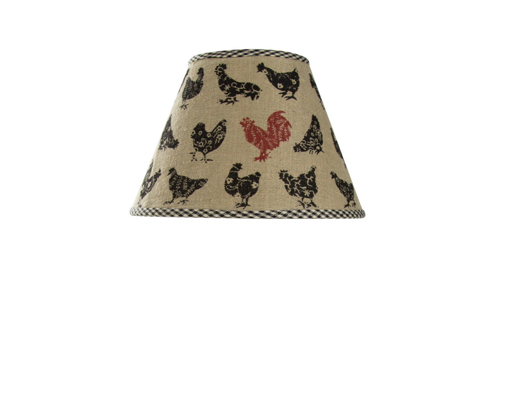 Lamp Shade ~ Hen Pecked