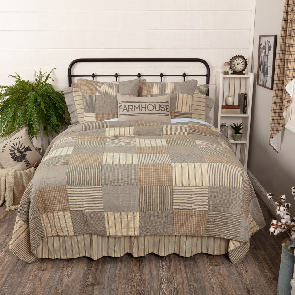 Sawyer Mill Charcoal Quilted Collection
