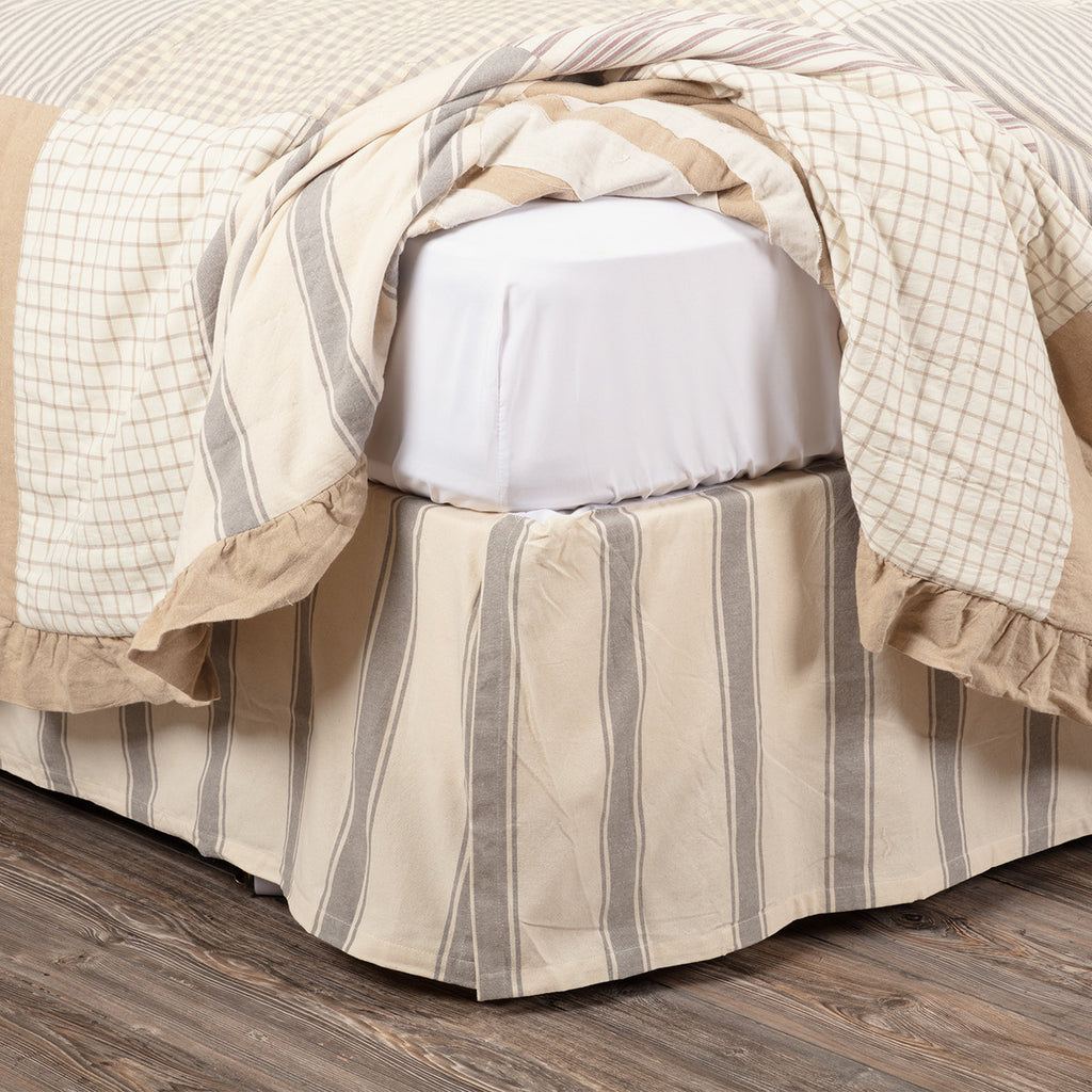 Grace King Bed Skirt 78x80x16