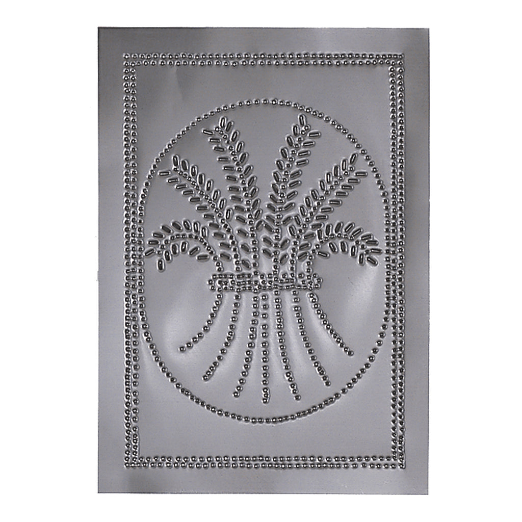Vertical Wheat Panel in Country Tin