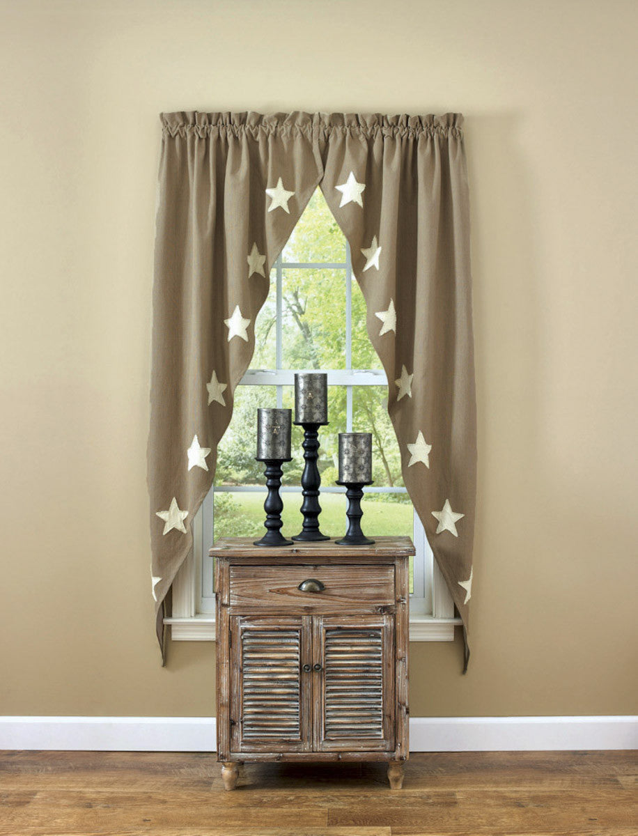 Taupe & Star Romantic Swag