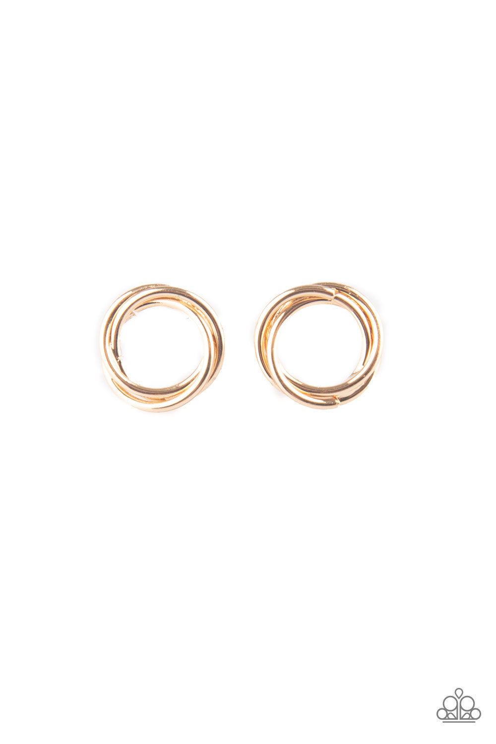 Paparazzi Simple Radiance - Gold Earrings