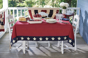 "Table Cloth 60"" x 84"" - Star Spangled"