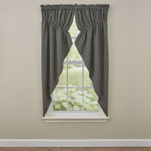 "Lebanon Star Lined Gathered Swag - 63""L"
