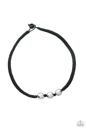 Paparazzi Pedal To The Metal - Black Urban Necklace