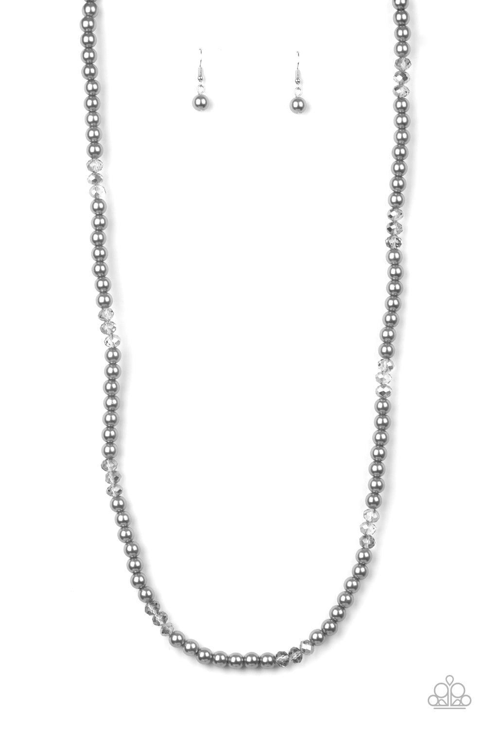 Paparazzi Girls Have More FUNDS Silver Necklace