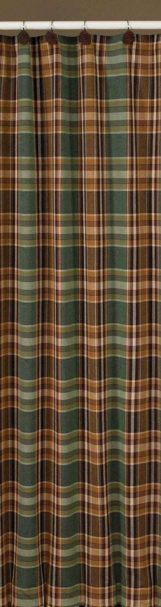 Shower Curtain - Wood River