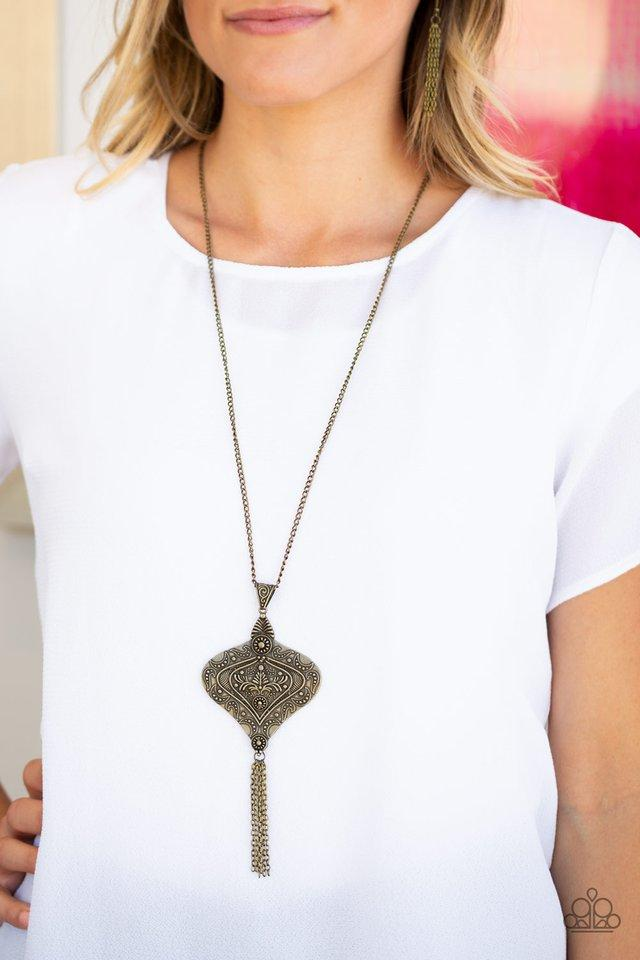 Paparazzi Rural Remedy - Brass Necklace