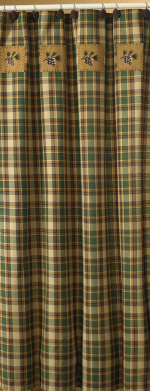 Shower Curtain - Scotch Pine