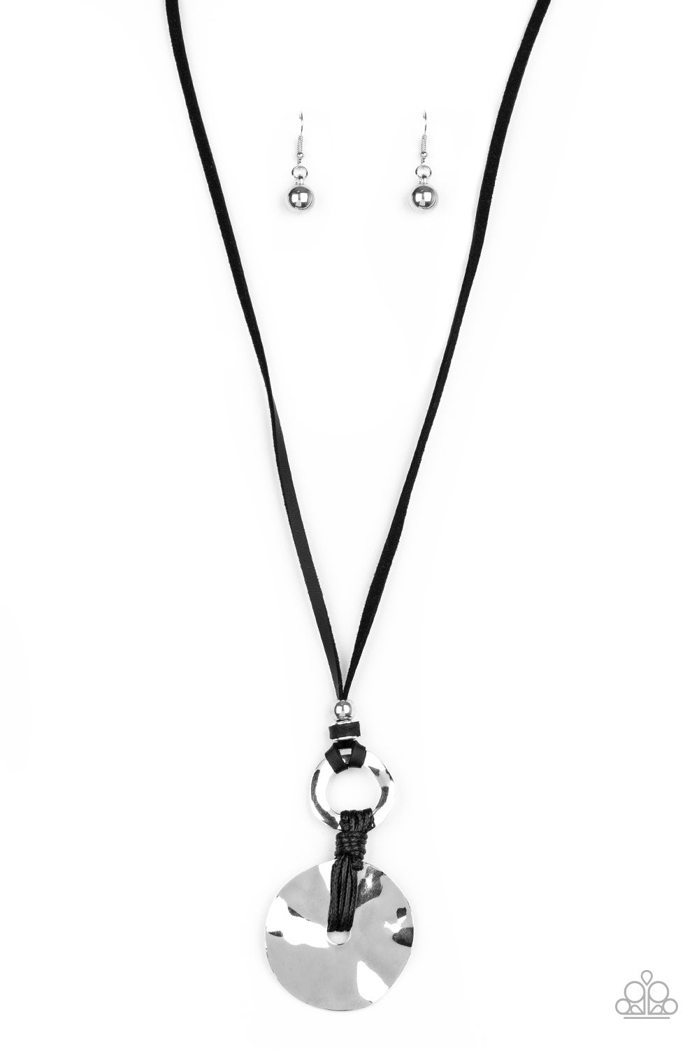 Paparazzi Nautical Nomad - Black Necklace