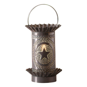 Mini Wax Warmer with Regular Star in Country Tin