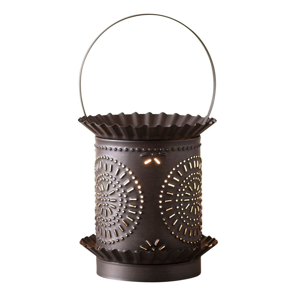 Jumbo Wax Warmer with Chisel in Kettle Black