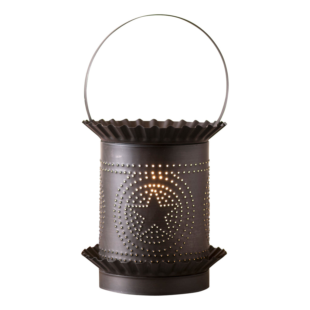 Jumbo Wax Warmer with Regular Star in Kettle Black