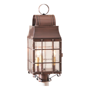 Washington Post Lantern in Antique Copper