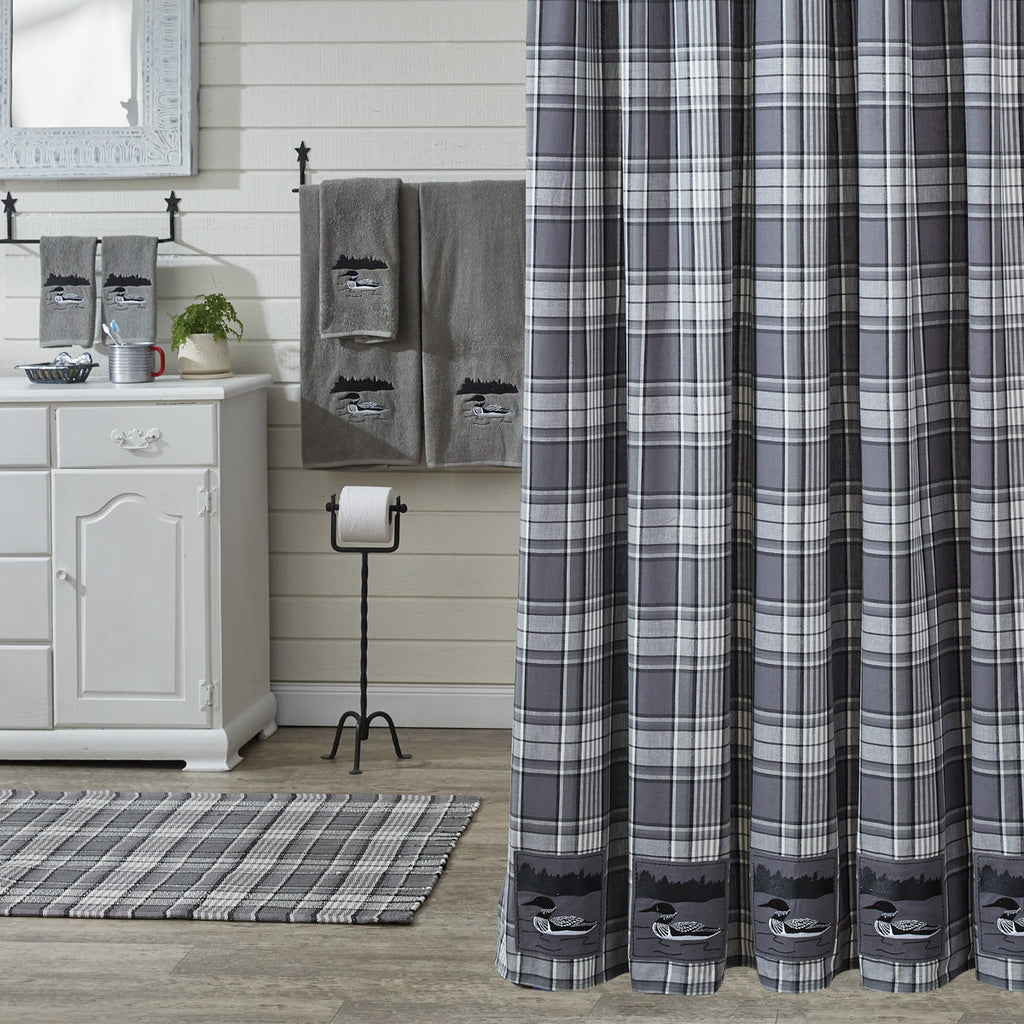 Shower Curtain - Gray Area