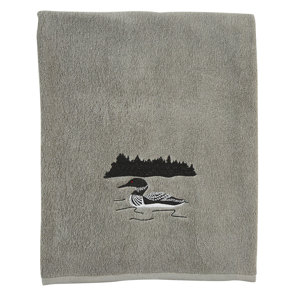 Bath Towel ~ Gray Area Loon