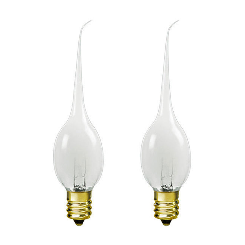 6 Watt Silicone Bulbs E12/Candelabra Base