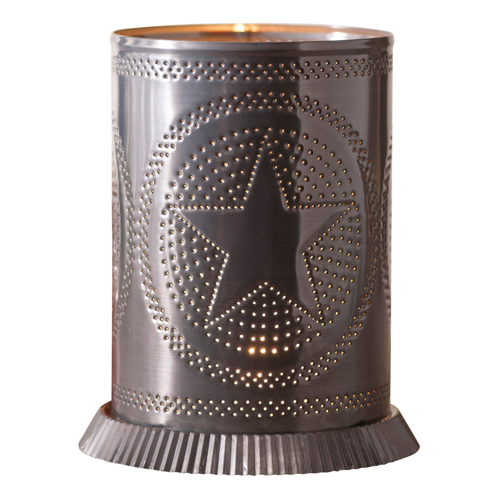 Candle Warmer with Regular Star in Country Tin