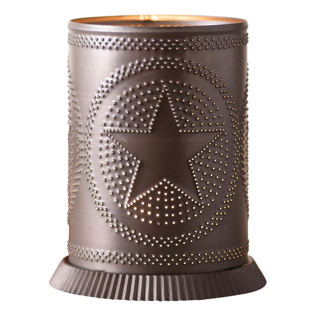 Candle Warmer with Regular Star in Kettle Black