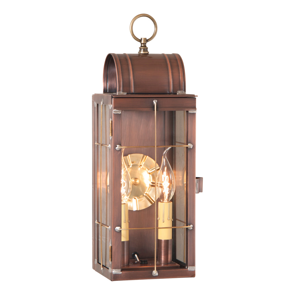 Queen Arch Lantern in Antique Copper