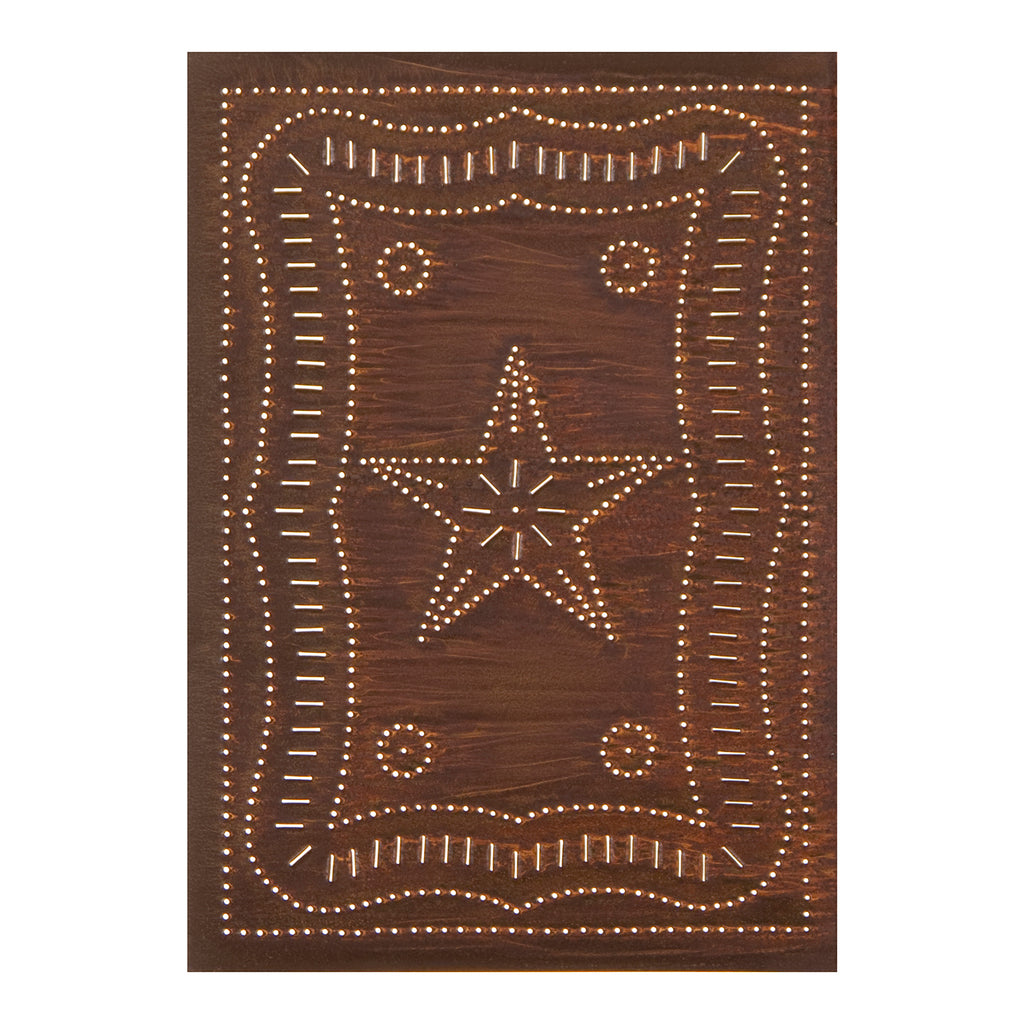 Federal Panel in Rustic Tin