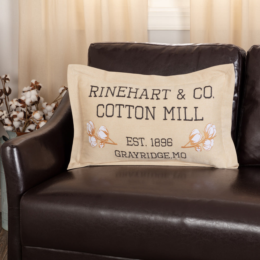 Ashmont Cotton Mill Co. Pillow 14x22