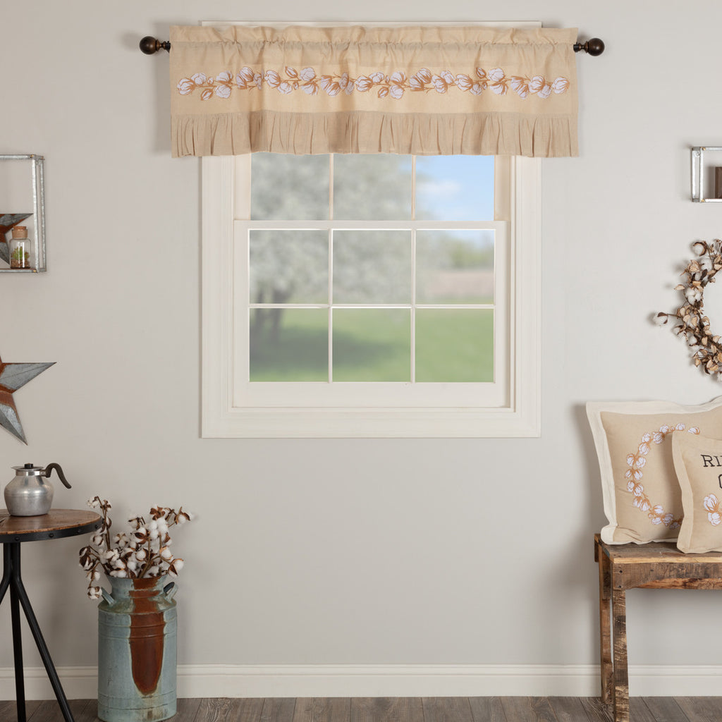 Ashmont Cotton Valance 16x60