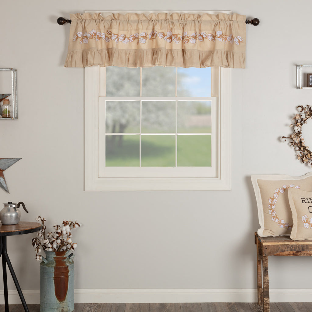 Ashmont Cotton Valance 16x72